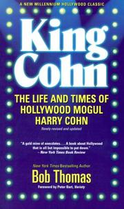 King Cohn by Thomas, Bob