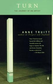 Cover of: Turn | Anne Truitt