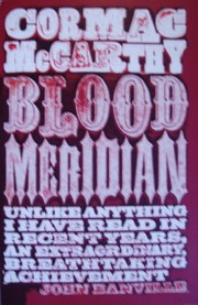 Cover of: Blood Meridian