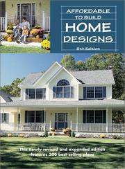 Cover of: Affordable to Build Home Designs |
