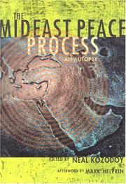 Cover of: The Mideast Peace Process: An Autopsy