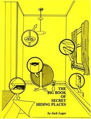 Cover of: The big book of secret hiding places