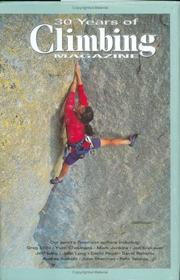 Cover of: 30 Years of Climbing Magazine | Climbing Magazine