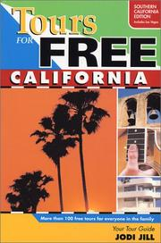 Cover of: Tours for Free California | Jodi Jill