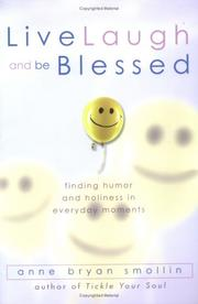 Cover of: Live, laugh, and be blessed