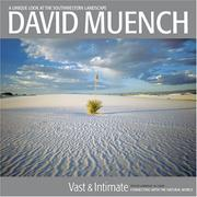 Cover of: David Muench Vast & Intimate | Lawrence W. Cheek