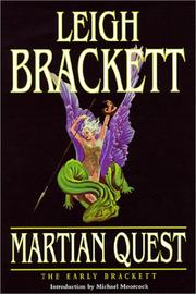 Cover of: Martian Quest: The Early Brackett