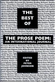 Cover of: The best of the prose poem
