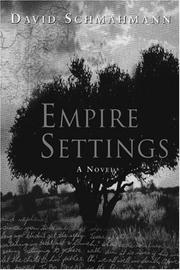Cover of: Empire settings | David Schmahmann