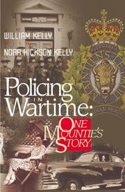 Cover of: Policing in wartime