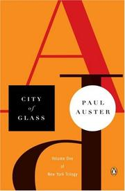 Cover of: City of glass: The Graphic Novel
