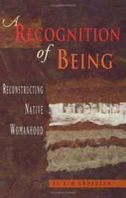 Cover of: A recognition of being