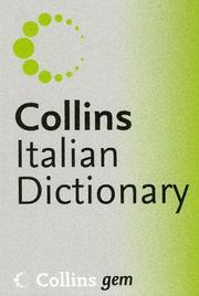 Cover of: Collins Gem Italian, 6th Edition