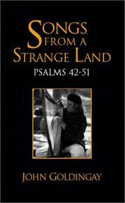 Cover of: Songs from a strange land: Psalms 42-51