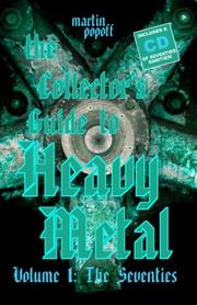 Cover of: The Collector's Guide to Heavy Metal: Volume 1