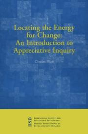 Cover of: Locating the energy for change