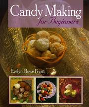 Cover of: Candy making for beginners