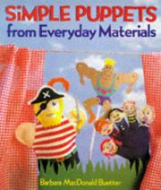 Cover of: Simple puppets from everyday materials