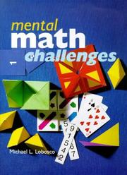 Cover of: Mental math challenges