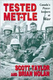 Cover of: Tested mettle