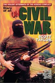 Cover of: Diary of an uncivil war