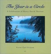 Cover of: The year is a circle