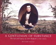 Cover of: A gentleman of substance | Richard Feltoe