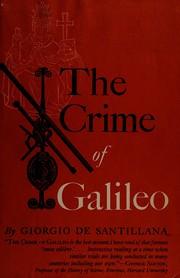 The crime of Galileo.