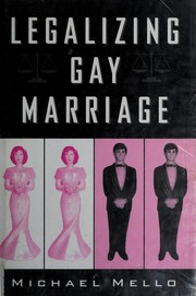 Legalizing Gay Marriage