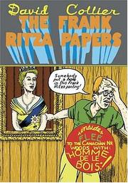 Cover of: The Frank Ritza Papers