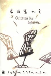 Cover of: Bagne, or, Criteria for Heaven