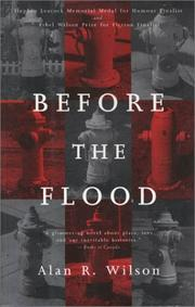 Cover of: Before the Flood