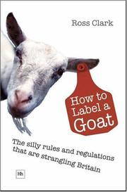 Cover of: How to Label a Goat