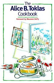 Cover of: The Alice B. Toklas cook book