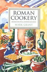 Cover of: Roman Cookery