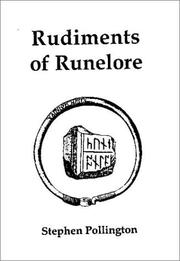 Cover of: Rudiments of runelore