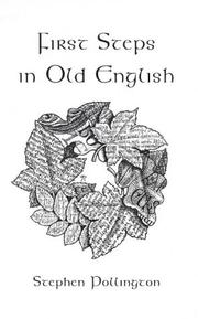 Cover of: First steps in Old English