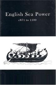 Cover of: English Sea Power 871-1100Ad | John Pullen-Appleby