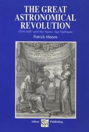 Cover of: The Great Astronomical Revolution