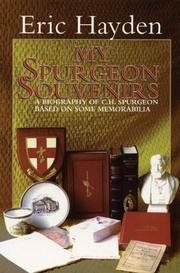 Cover of: My Spurgeon Souvenirs: