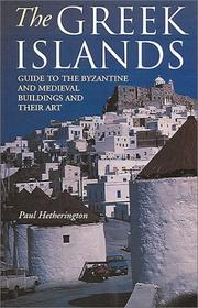 Cover of: The Greek Islands