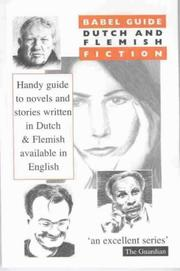 Cover of: Babel Guide: Dutch and Flemish (Babel Guide to Fiction in Translation)