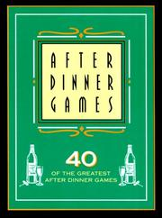 Cover of: After Dinner Games | Lagoon Books