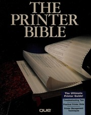 The printer bible