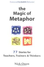 Cover of: The Magic of Metaphor
