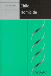Cover of: Child homicide