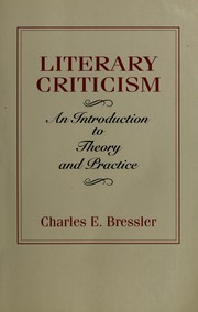 Cover of: Literary criticism | Charles E. Bressler