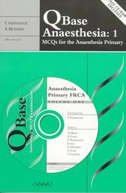 Cover of: Qbase anaesthesia |