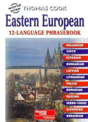 Cover of: Eastern European 12-language Phrasebook |