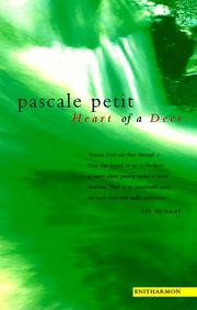 Cover of: Heart of a deer | Pascale Petit
